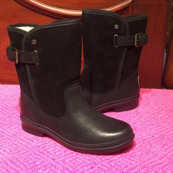 820143f6b4a New Ugg Womens Oren Water/snow Black Boot